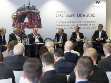 A highlight of every electronica - the CEO Roundtable. This year digitally and live at electronica virtual.